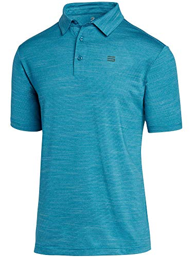 Three Sixty Six Golf Shirts for Men - Dry Fit Short-Sleeve Polo, Athletic Casual Collared T-Shirt...
