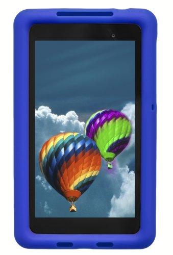 Bobj Silikon-Hulle Heavy Duty Tasche fur Nexus 7 FHD 2013 Modell Tablette (Nicht für 1. Generation 2012 Nexus 7) - BobjGear Schutzhulle (Blau)