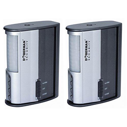 Doberman Security SE-0104-2PK Motion Detector Alarm/Chime -...