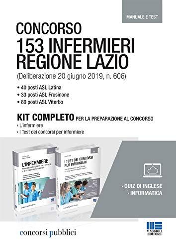 Concorso 153 infermieri Regione Lazio