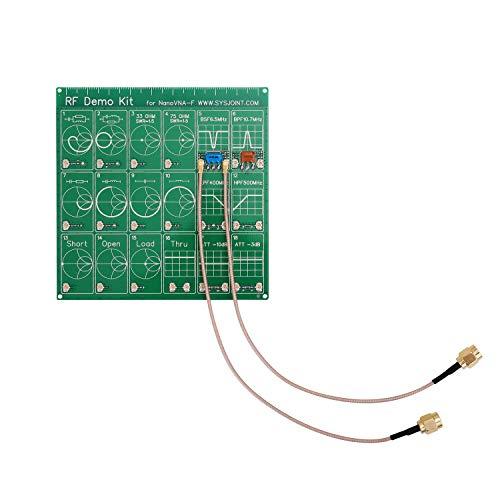 KKmoon ベクトルネットワークアナライザー用 減衰器 RFデモキット テスターボードフィルター減衰器 ネットワークテストフィルターアッテネーター