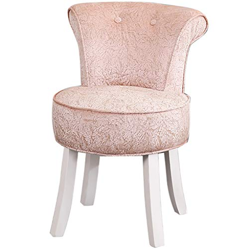 ZDY Shabby Chic Chair/Fan Back Chair/Sillas y taburetes/Baroque Piano Chair/Silla de Banco Acolchada