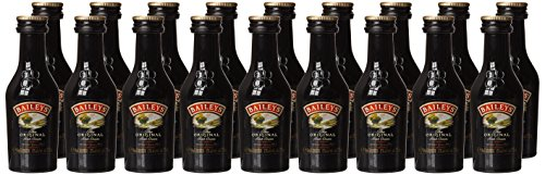 Baileys Irish Cream Whisky Liqueur 5cl Miniature - 20 Pack