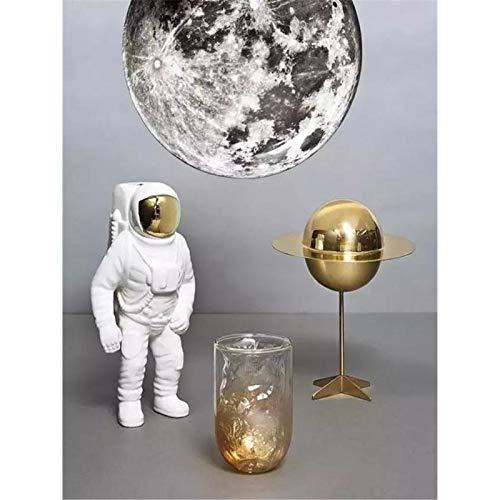 Lazodaer - Kit de pintura de diamante 5D para adultos, niños, decoración del hogar, habitación, oficina, regalo para él, sus astronautas, 30 x 39,9 cm