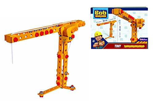 Eichhorn 109325100 - Bob der Baumeister - Constructor Kran Winzi / Tiny, 114 teilig, FSC 100%, Made in Germany, ab 4 Jahren