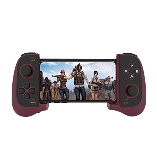 QCHEA Controladores Bluetooth Mini Wireless Game Physics Aid Hand Handheld Universal Edition (Color : Red)
