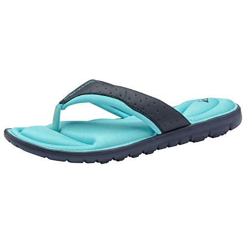 Dunlop Flip Flops Toe Post Slip On Sandalias planas acolchadas, color, talla 37 EU