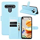 ROVLAK Case for LG K61 Wallet Flip Cover with Card Slot