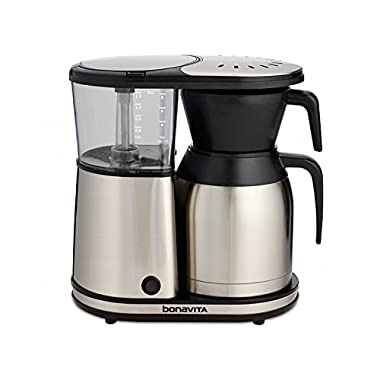 Bonavita 8-Cup One-Touch Coffee Maker Featuring Thermal Carafe, BV1900TS
