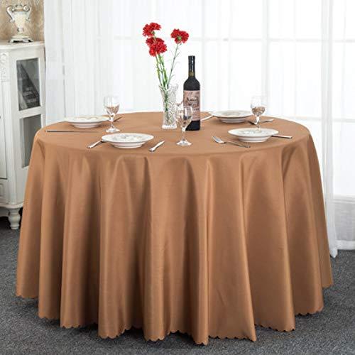 LIUJIU Tovaglia in microfibra lavabile, resistente all'acqua e alle rughe, ideale per la cucina da pranzo, 1,6 x 1,6 m