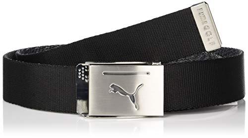 PUMA Golf 2019 Men's Reversible Web Belt (One Size), Puma Black