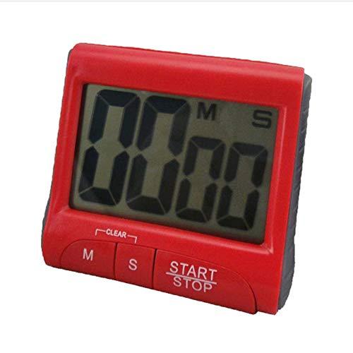 PTICA Eléctrico LCD Grande Digital Cocina Temporizador Cuenta Regresiva Reloj Alarma Fuerte...