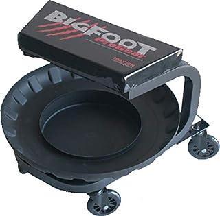 Traxion 2-710 BigFoot Assento para garagem/loja com bandeja removível para ferramentas