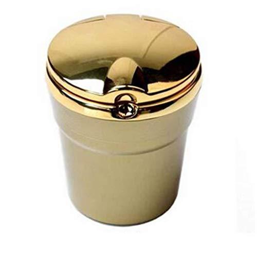 QKSZ Cenicero de Coche Cenicero de Cigarrillos para automó