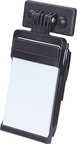 HR 10311001 Notizblock mit Kugelschreiber - Saugerbefestigung für KFZ - schwarz