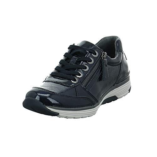 Gabor Rollingsoft Sneaker in Übergrößen Blau 36.973.26 große Damenschuhe, Größe:43