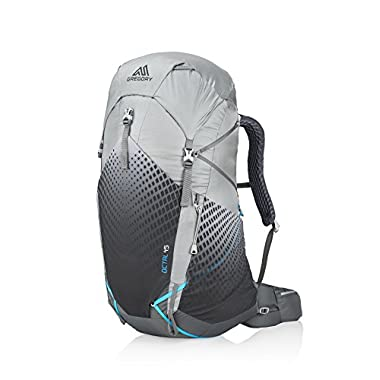 Gregory Mountain Products Women's Octal 45 Liter Backpack, Frost Grey, Extra Small