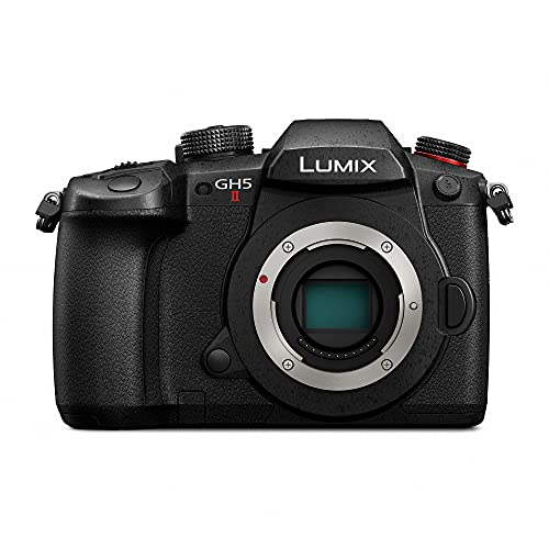 Panasonic LUMIX GH5M2, 20.3MP Mirrorless Micro Four Thirds Camera with Live Streaming, 4K 4:2:2 10-Bit Video, Unlimited Video Recording, 5-Axis Image Stabilizer DC-GH5M2