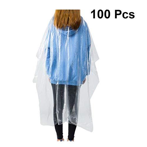 CMWL wegwerpschort, 50 / 100 stuks Wegwerp-haarkleurmiddel sjaal oliedoek haar kunststof waterdichte mat verdikte wegwerpfolie