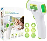Best Child Thermometers - Non-Contact Digital Thermometer Frontal for Baby Children Adults Review