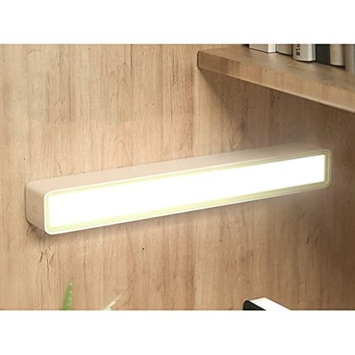 Illuminazione a LED wireless sotto il mobile, lampada scrivania studenti, interruttore tattile regolazione della luce ricaricabile tramite USB magnetico, batteria al litio di grande capacità 1500 mA