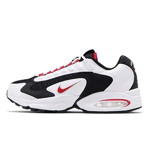 Nike Air Max Traix Uomo Running Trainers CD2053 Sneakers Scarpe (UK 7 US 8 EU 41, White University Red Black 105)