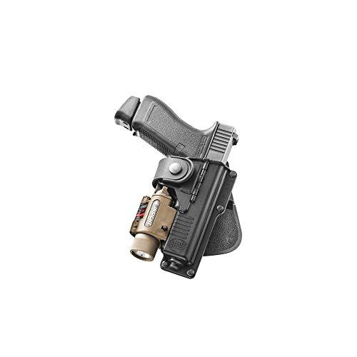Fobus Holster de Glock 17avec emplacement pour lampe