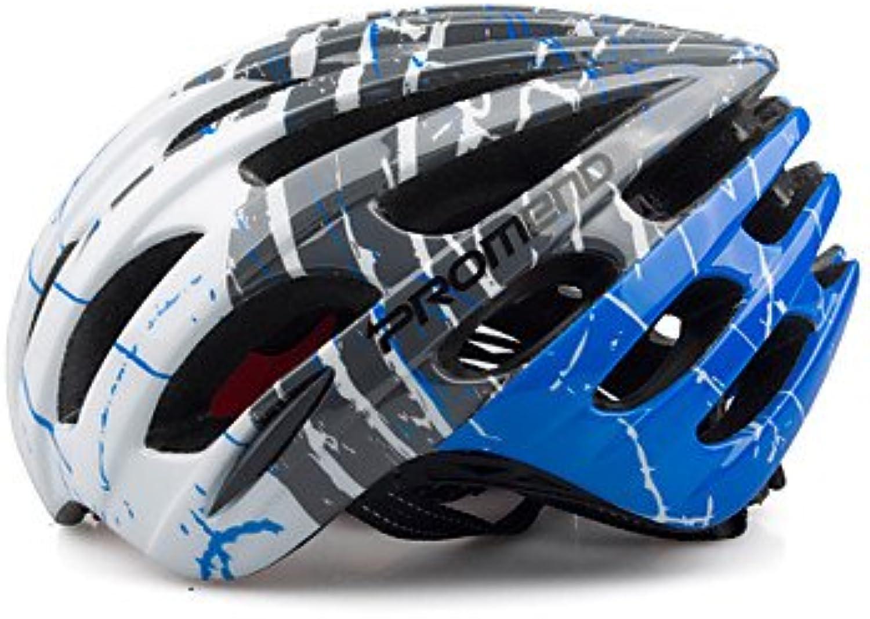 Promend Anpassung Anpassung Anpassung Radfahren MTB Road Bike saftly Helm mit 27 Belüftungsöffnungen Ultralight 230 g engen gegossenem, 58 cm B0787LNGCX  Helle Farben 17f6f0
