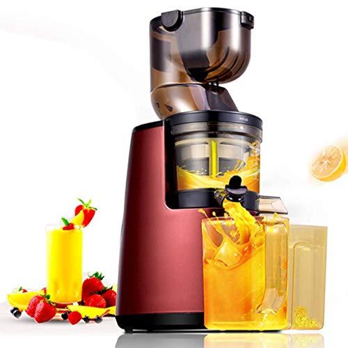 Máquinas de exprimidor, exprimidor de masticación, extractor de expresión lenta, boca anti-goteo, motor silencioso, ideal for fruta de nutrientes sorbete y jugo de verduras, anti-oxidación de velocida