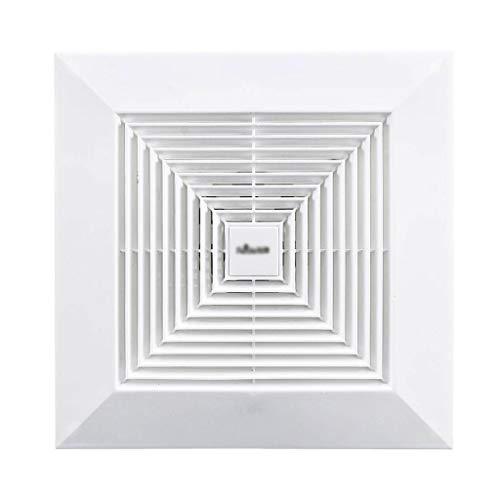LXZDZ Ventilador de escape de techo de 10/12 pulgadas 220 V, tubo de ventilación de pared, ventilador de cocina, inodoro, ventilador silencioso, Extractor de baño, ventilador de ventilación de aire