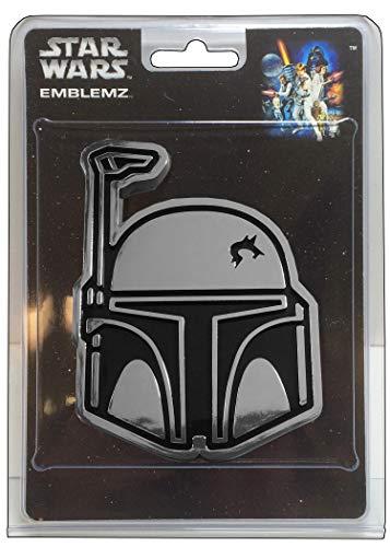 CHROMA 41518 Chrome Injected Star Wars Boba Fett Molded Emblem Decal