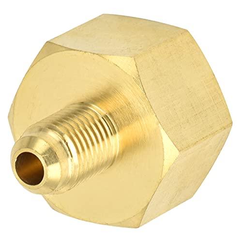 Cuque Adaptador De Llenado De Refrigerante, Adaptador De Refrigerante De Latón para El Hogar para Accesorio De Aire Acondicionado