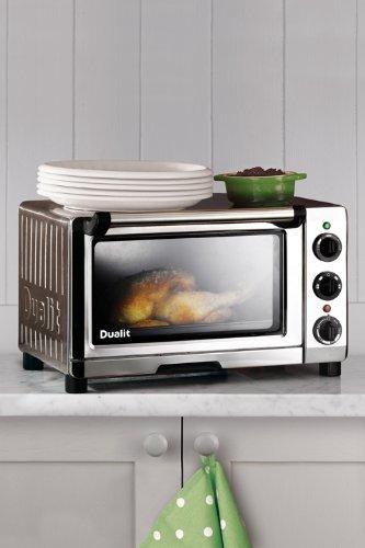 Dualit 89200 Mini Oven, 18 L, 1300 W - Chrome