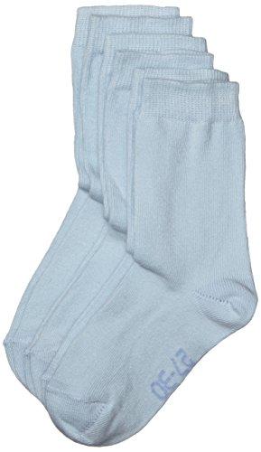 Melton Jungen Socken 600001 Gr. 37-39 (Herstellergröße: 35-39) Blau (Baby blue 205)