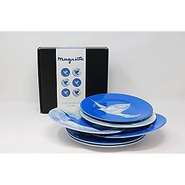 Arteum Magritte - Plates (set of 6) - Sky Bird (1966)