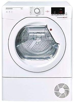 Hoover Dynamic Next DXC9DE 9KG Freestanding Condenser Tumble Dryer-White