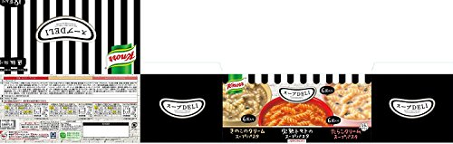クノールスープDELIバラエティボックス18袋入トマト/きのこ/たらこ