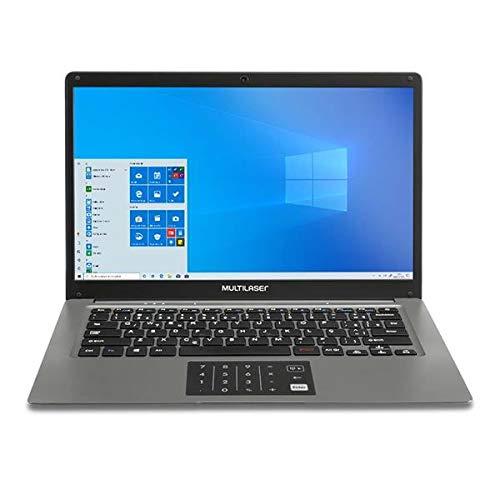 Notebook Multilaser Legacy Cloud 14 Pol. 2GB 32GB W10 Cinza - PC131