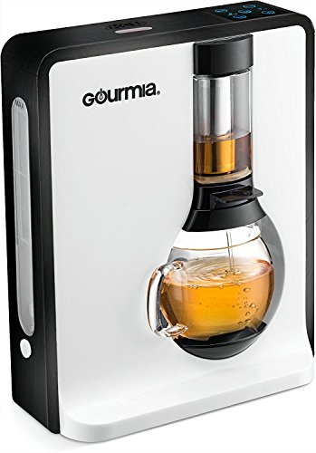 Gourmia GTC8000 Electric Square Tea Maker Loose Leaf Tea Infuser & Brewer With iTEA BOIL TO BREW TECHNOLOGY Includes 3 Brew Settings (Light, Medium & Strong) Great For White, Green, Oolong & Black Tea [並行輸入品]
