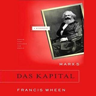 Marx's Das Kapital audiobook cover art