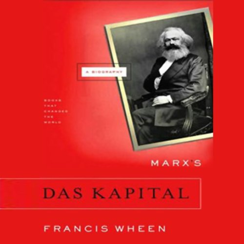 Marx's Das Kapital audiobook cover art