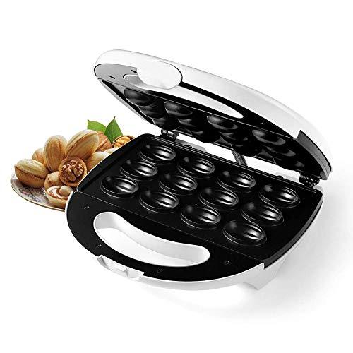 CCJW Elektrische Nusskuchenhersteller Mini-Backmaschine, Brotwaffel-Sandwich-Maschine, Bratpfanne-Toaster für Küche,...