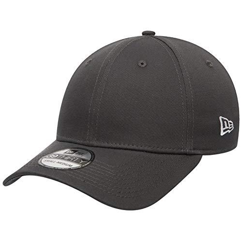 New Era 39Thirty Stretch-Fit Cap - NE Flag Graphite - L/XL