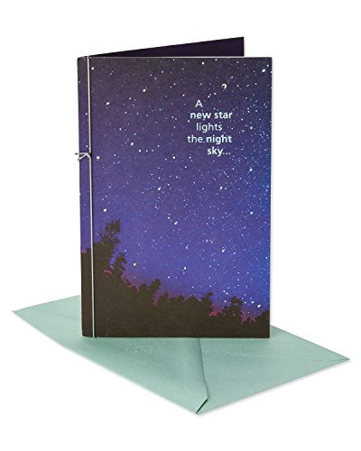 American Greetings Sympathy Card (New Star, Shine Forever)