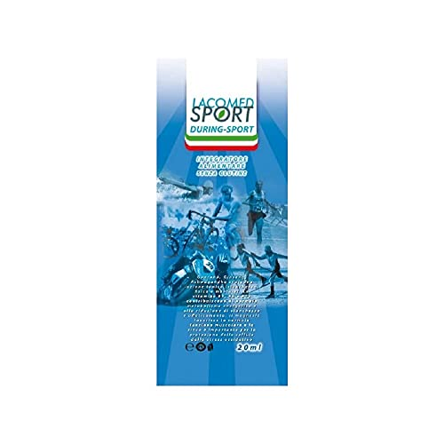 Lacomed Sport 16002, Gel energetico Sportivo During Sport Unisex Adulto, Bianco, 10 x ml 20