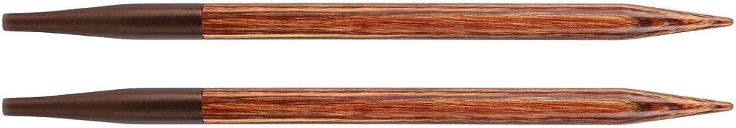 Knitter's Pride KP150251 Ginger Interchangeable Needles-Size 2.5/3mm