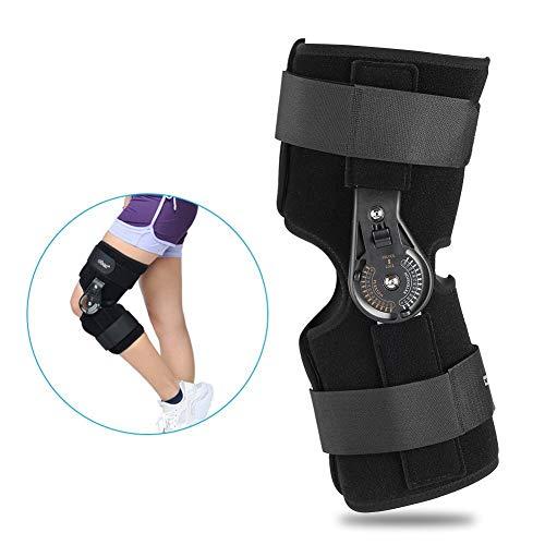 Ortesi per ginocchio,ortesi per ginocchio Stecca per ginocchio, lesione del legamento ortopedico, protezione di sicurezza(S)