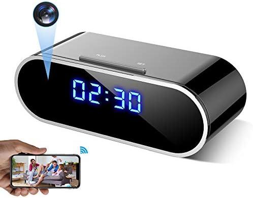 WEMLB WB 726 HD 1080 P WiFi Hidden Camera Alarm Clock Night Vision Motion Detection Loop Recording product image