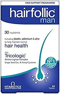 Vitabiotics Hair Follic Man - 60 Tablets