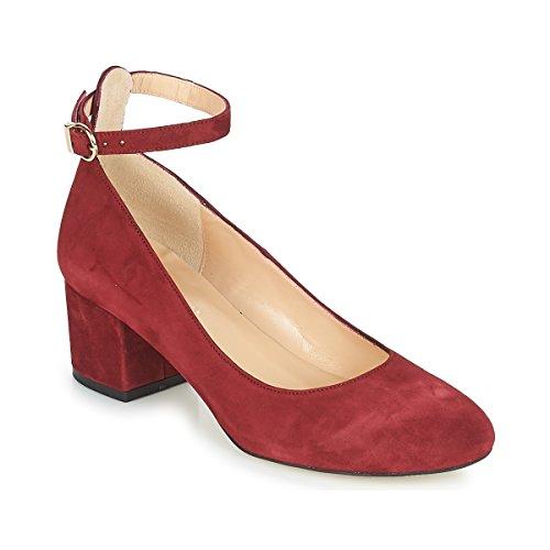 JONAK Vespa Pumps Damen Rot - 38 - Pumps Shoes
